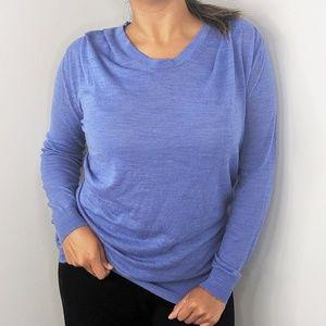 3.1 PHILLIP LIM Light Blue Long Sleeve Blouse XS